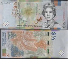 Bahamas Pick-number: New Uncirculated 2019 1/2 US Dollars - Bahamas