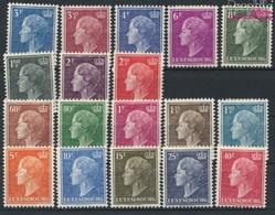 Luxemburg Mi.-Nr.: 442-459 (kompl.Ausg.) Mit Falz 1949 Charlotte (9408681 - Luxemburg
