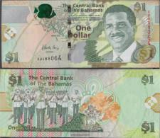 Bahamas Pick-number: 71Aa Uncirculated 2015 1 US Dollars - Bahamas