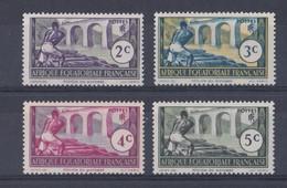 Afrique Equatoriale   Y&T  N°  34  35  36  77  Neuf ** - A.E.F. (1936-1958)