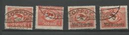 Danzig  1923  Mi.Nr.:177-180 Air Mail Issue Cancelled O - Danzig