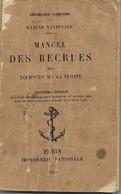 MARINE NATIONALE MANUEL DES RECRUES - Französisch