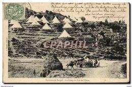 CPA Militaria Environs De Sospel Le Camp Du Col De L&#39orne - Sospel