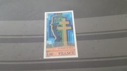 LOT 494647 TIMBRE DE FRANCE NEUF** LUXE NON DENTELE N°1941 - France