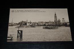 10296            ANTWERPEN  ANVERS, SCHELDEZICHT EN OVERZETBOOT - Antwerpen