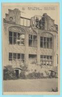 1190 - BELGIE - IEPER - YPRES - RUINES - MAISON BIEBUYCK - Ieper