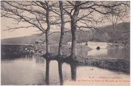 03. CERILLY. Etang De Pirot Et Le Pont Du Moulin De La Pierre. 5 - Other Municipalities