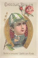 CHROMO /  Chocolat Poulain  : Le Petit Jockey    ///   REF  Mars  20 - Poulain