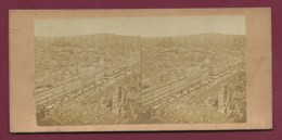 100320C - PHOTO STEREO - PARIS Panorama - Stereoscopic