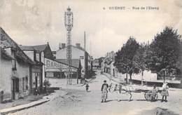 23 - GUERET : Rue De L'Etang ( Bonne Animation - Attelage - Garage ) - CPA - Creuse - Guéret