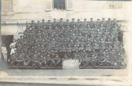 Carte Photo De La 5ème Compagnie Du 133ème Régiment D'Infanterie Basée à Belley Dans L'Ain - Reggimenti
