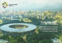 STADIUM POSTCARD STADE STADION STADIO ESTADIO JAKARTA - Stadi