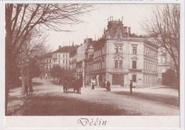 CZECH REPUBLIC - AK 375268 Decin - MODERN REPRODUCTION CARD - República Checa