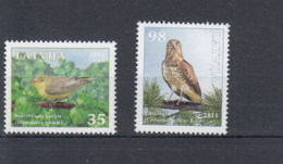 Lettland Michel Cat.No. Mnh/** 816/817 Birds - Lettonie