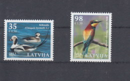 Lettland Michel Cat.No. Mnh/** 864/865 Birds - Lettonie