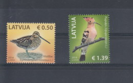 Lettland Michel Cat.No. Mnh/** 907/908 Birds - Lettonie