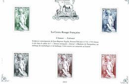 BLOC PATRIMOINE DE FRANCE 2019 CROIX ROUGE FRANCAISE AMOUR FALCONET 877 - Ongebruikt