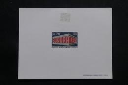 ANDORRE - Épreuve De Luxe Europa 1969 , Neuf Avec Trace De Scotch Au Verso - L 55525 - Cartas