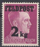 GERMANIA, TERZO REICH - 1944 - FRANCHIGIA MILITARE - Yvert 4 Nuovo MNH, Di Seconda Scelta. - Oficial