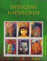 2012  UNO Wien Mi. Bl 32 **MNH : Indigene Menschen - Neufs