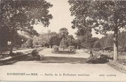 CPA Rochefort-sur-Mer Jardin De La Préfecture Maritime - Rochefort