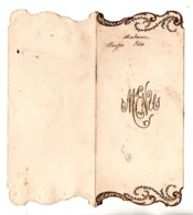 MENU . RESTAURANT À LIBOS (47) LE 18 AVRIL 1938 - Réf. N°167F - - Menus