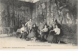 Isère.  Salon Du Vieux Château De Virieu. - Virieu