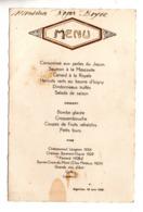 MENU . RESTAURANT À AIGUILLON (47) LE 19 JUIN 1938 - Réf. N°171F - - Menus