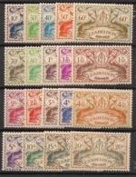 Guadeloupe - 1945 - N°Yv. 178 à 196 - Série De Londres Complète - Neuf Luxe ** / MNH / Postfrisch - Ungebraucht