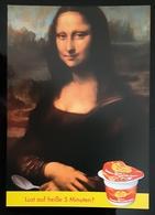 Mona Lisa Carte Postale - Publicidad