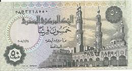 EGYPTE 50 PIASTRES 2008 UNC P 62 O - Egypte
