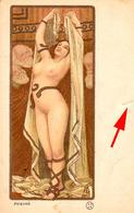 ÉROTISME / SEXY / FEMME NUE / NAKED WOMAN : PHRYNÉ De PAUL BERTHON - ART NOUVEAU - PRÉCURSEUR / FORERUNNER ~ 1900 (ae232 - Beauté Féminine D'autrefois < 1920
