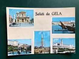 SALUTI DA GELA   1961 - Gela
