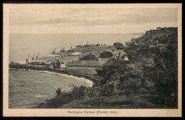 MORMUGOA HARBOUR (present View) India Portuguesa. Postal Cliche SOUZA & PAUL Goa. POSTCARD Portugal Colonial - India