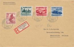 Deutsches Reich - 1939 - Automobil Ausstellung Berlin - Set On R-cover From VaalserQuartier To Maastricht / NL - Deutschland