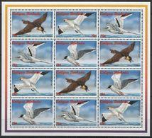 Antigua And Barbuda, 1996, Birds, Seagulls, Sheetlet - Möwen