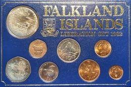 1982 - Proof Set  - Falkland Liberation - Falkland Islands