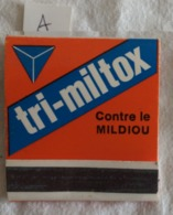 Pochette D'allumettes: Tri Miltox. Sandoz. (A) - Zündholzschachteln