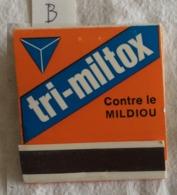 Pochette D'allumettes: Tri Miltox. Sandoz. (B) - Zündholzschachteln