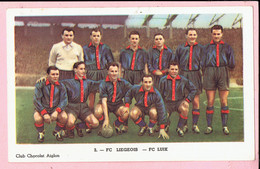 Chromo - Chocolat Aiglon - FC LIEGEOIS - FC LUIK - Aiglon
