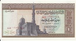 EGYPTE 1 POUND 1971 UNC P 44 B - Egypte
