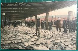 Fish Market, Aberdeen ~ Postmarked November 30th 1906 - Aberdeenshire