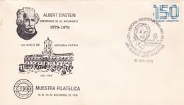 ALBERTO EINSTEIN CENTENARIO DE SU NACIMIENTO 1879 - 1979. CEFAI ARGENTINA SPC JUDAISMO ISRAEL יהדות ישראל LILHU - Joodse Geloof