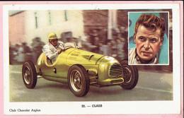 Chromo - Chocolat Aiglon - Autorenner Formule 2 - CLAES Met Engelse Wagen H.W.M. - Aiglon