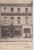 88 - SAINT DIE - AMEUBLEMENTS WEILLER FRERES - 17 RUE THIERS - BELLE CARTE - Saint Die