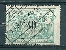 TR 20 Gestempeld ZELE - Bahnwesen