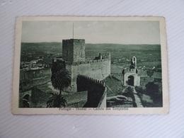 CPA PORTUGAL Thomar Castelo Dos Templarios Cliché De E. Simoes TBE - Andere