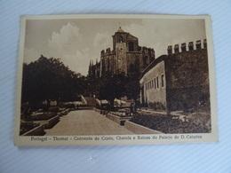 CPA PORTUGAL Thomar Convento De Cristo Charola E Ruinas Do Palacio De D. Catarina TBE - Andere