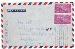 IZ578   España 1965 - Correo Aereo De Sant Feliu De Guixols A Milano - 1961-70 Briefe U. Dokumente