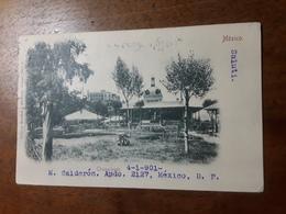 Cartolina Postale,  Postcard 1901, Mexico, Chapultepec - Messico